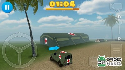 Скриншот 4x4 Off-Road Ambulance Game №3