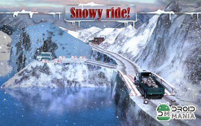 Скриншот 4x4 Winter Snow Drive 3D №3