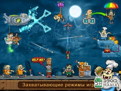 Скриншот Archery Blitz - Shoot Zombies №3