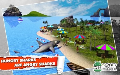 Скриншот Angry Shark Simulator 3D №3