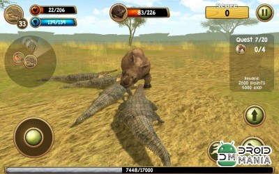 Скриншот Wild Crocodile Simulator 3D №3
