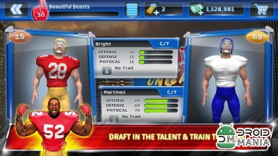 Скриншот Football with Patrick Willis №3