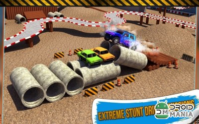 Скриншот 4x4 Monster Truck Stunts 3D №3