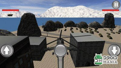 Скриншот Helicopter Base Attack 3D №4