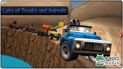Скриншот Hill Climb Racing Animals №4