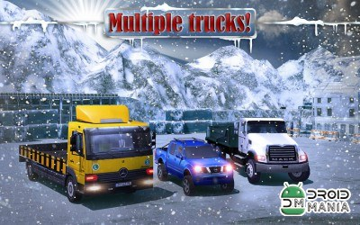 Скриншот 4x4 Winter Snow Drive 3D №4