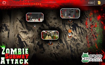 Скриншот Angry Zombie Subway Attack 3D №4