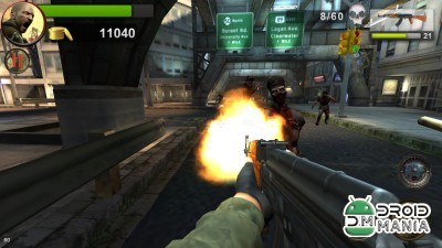 Скриншот Death Shooter: Zombie 3D №4