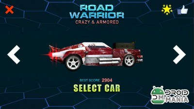 Скриншот Road Warrior - Crazy & Armored №4