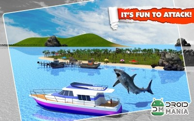 Скриншот Angry Shark Simulator 3D №4