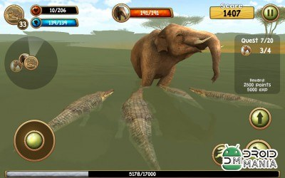 Скриншот Wild Crocodile Simulator 3D №4
