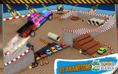 Скриншот 4x4 Monster Truck Stunts 3D №4