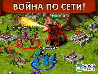 Скриншот Game of War - Fire Age №3