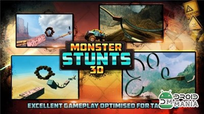 Скриншот 3D Monster Stunts №3