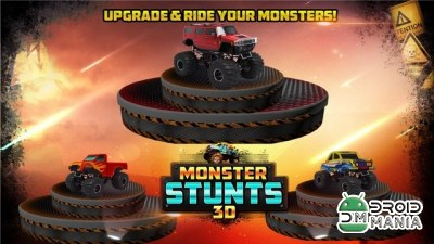 Скриншот 3D Monster Stunts №4