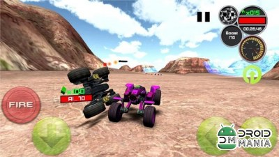 Скриншот Doom Buggy 3D Racing №1