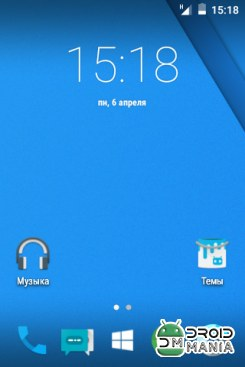 Скриншот Cyanogen Mod 12 for Live with Walkman №1